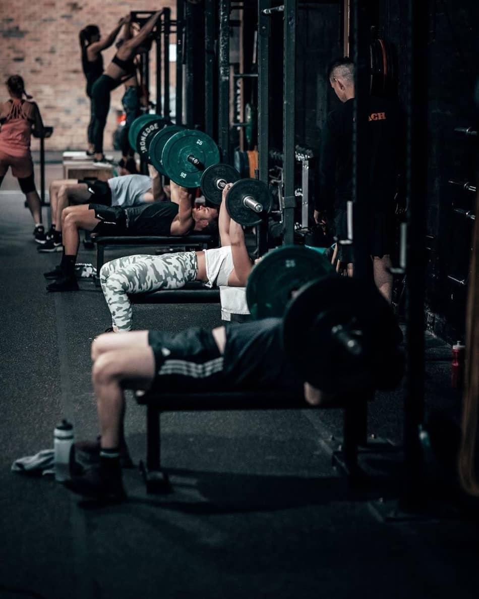 hurt locker richmond bench press